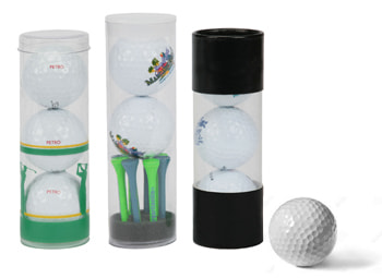golf ball tube packaging