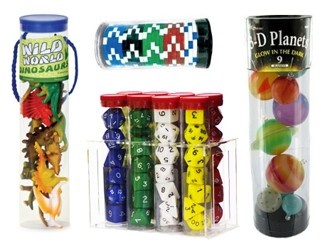 Clear Plastic Tubes For Toys and Games